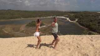 Alex dancing in the Sand Dune in Natal - Brasil 2013.