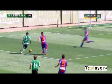 Isnaba - fintas e golos - SCP vs Alverca