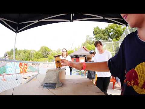 FlatFace Fingerboard Contest @ Andover Skatepark