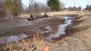 8. Honda foreman 400 and Suzuki vinson 500 mudding