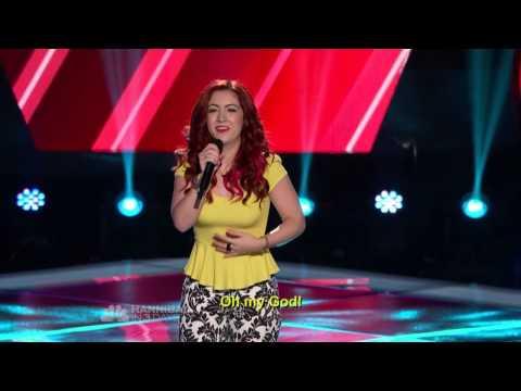 Monique Abbadie - Loca The Voice Season 4 Blind Audition HD