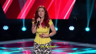 Monique Abbadie - Loca The Voice Season 4 Blind Audition HD