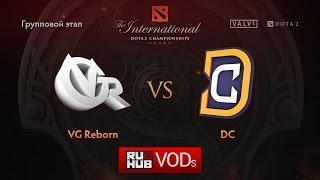 DC vs VG Reborn, game 2