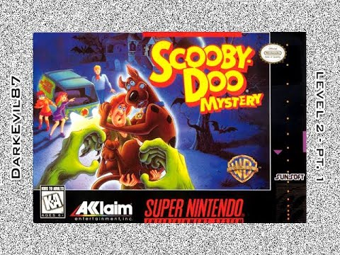 scooby doo mystery super nintendo game