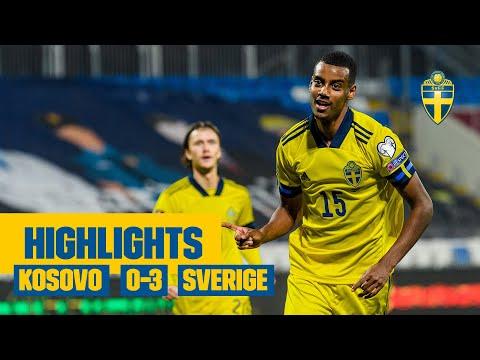 Highlights: Kosovo - Sverige | VM-kval | Augustinsson, Isak och Larsson gör mål!