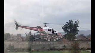 Helicopter crashes in Lake Nakuru - VIDEO