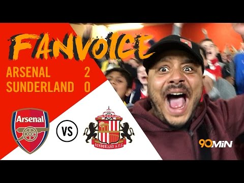 Arsenal 2-0 Sunderland | Sanchez scores twice to keep Arsenal's top 4 hopes alive! | 90min FanVoice