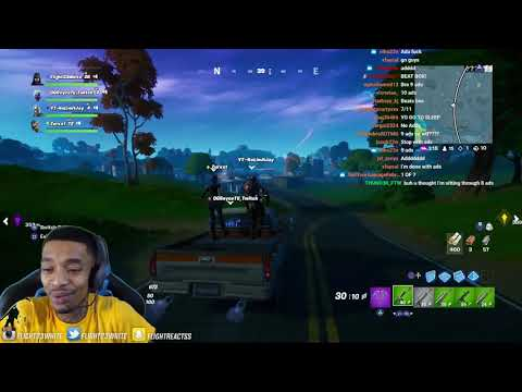 FlightReacts PULLS OFF MIRACLE In NEW Fortnite Season 4!