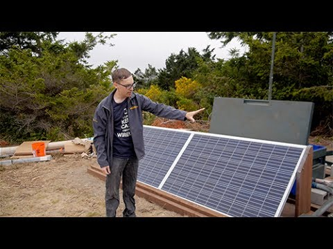 Mimosa in the Field: Building a DIY Off-Grid Solar Site