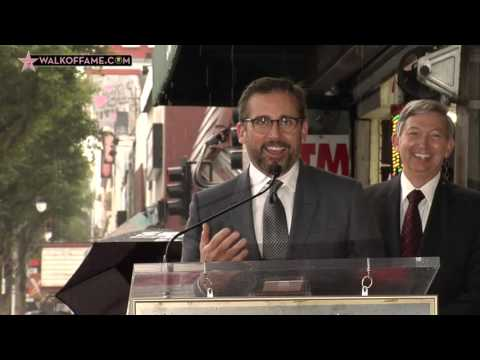 Steve Carell Walk of Fame Ceremony