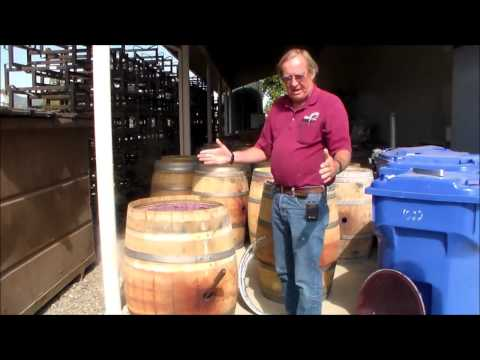 Barrel Head Removal for Fermentation