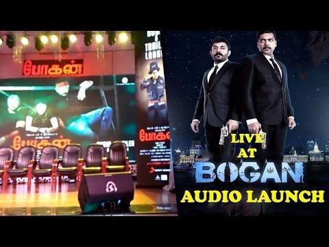 Bogan Audio Launch Live - Glimpse - Jayam Ravi, Arvind Swami, Hansika, D. Imman