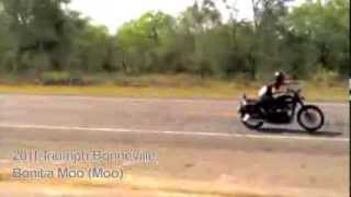 6. 2011 Triumph Bonneville T100