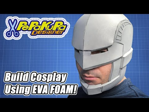 Build Cosplay Using Eva Foam and Pepakura Designer (Helmets, Armor, Props and More!)