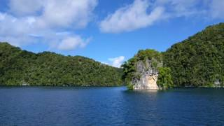 Palau on our way to diving spots