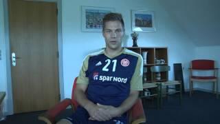 Kasper Risgård som ambassadør i BVV Aalborg