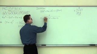 Intermediate Algebra Lecture C.4 Part 2