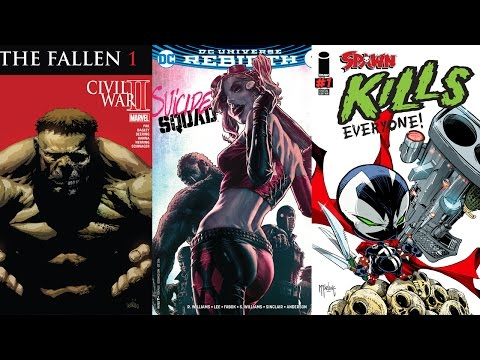 Comic Book Reviews from Pete's Basement Season 9, Episode 28 - 8.23.16