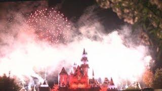 ♥♥ 2014 Disneyland Christmas Holiday Fireworks Show