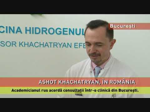 Academicianul rus Ashot Khachatryan, părintele medicinei hidrogenului, în România