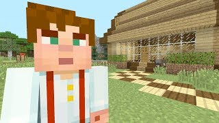 Minecraft Xbox - My Story Mode House - This Is So Wrong!
