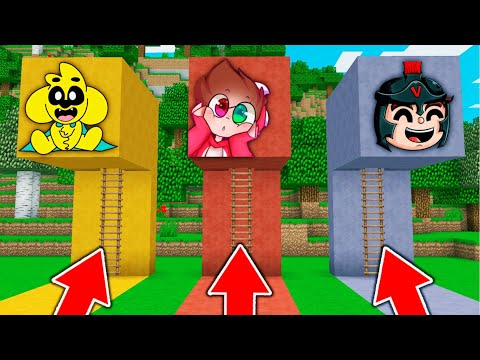 MINECRAFT: ¿QUIEN SOBREVIVE A UN APOCALIPSIS? 😂 MIKE, RAPTOR y INVICTOR Minecraft minijuego