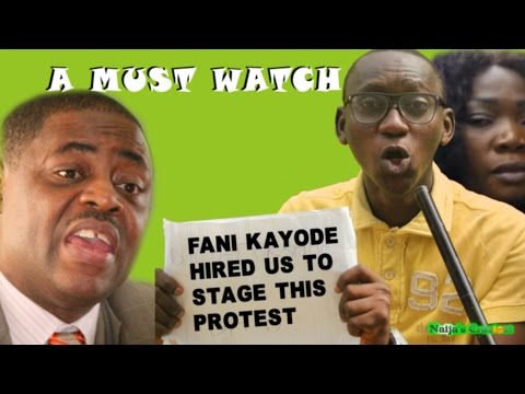 Fani Kayode Hired Us to Stage Anti-Buhari Protest at Chatham House But We Forgot to Get Details.