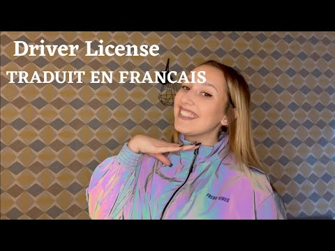 Driver License - TRADUIT EN FRANCAIS (cover Lisa Pariente)