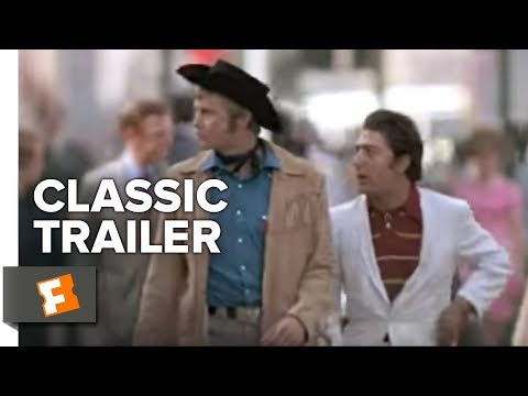 Midnight Cowboy Official Trailer #1 - Dustin Hoffman Movie (1969)