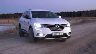 """""""AutoMedia Latvia"""" tests: izmēģinām otrās paaudzes krosoveru """"Renault Koleos"""""""