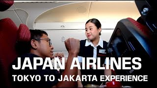 Download Video TOKYO TO JAKARTA! JAPAN AIRLINES ECONOMY CLASS BOEING 787 EXPERIENCE MP3 3GP MP4