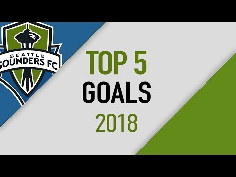 Video: Top 5 Goals of 2018