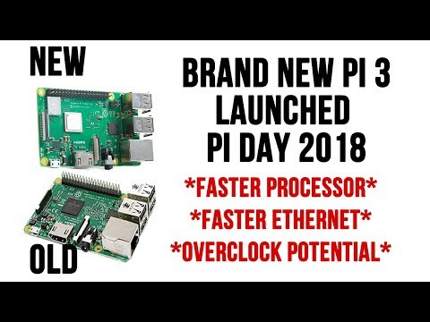 Brand New Raspberry Pi 3 Upgraded and Faster - Available NOW!