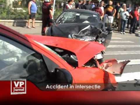 Accident în intersecţie