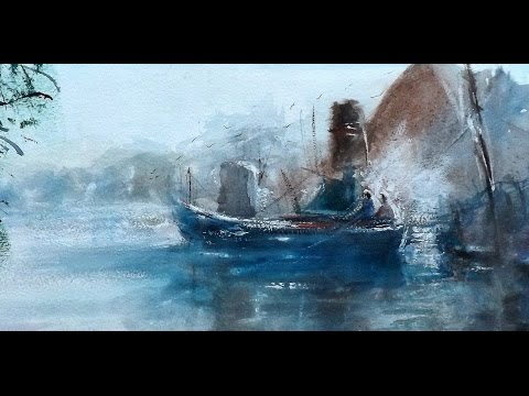Loose, Atmospheric Impressionist Watercolours by Sean Terrington-Wright