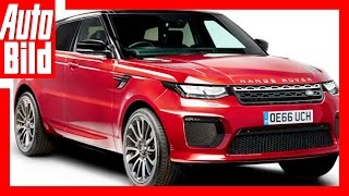Zukunftsvision: Range Rover Sportcoupé (2017) / Neues Sportcoupé im Anmarsch by Auto Bild