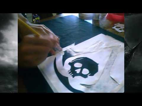 Tutorial como fazer bandeira Assassin's Creed IV Black Flag