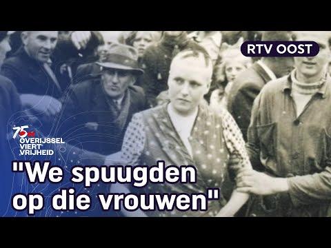 Geslapen met een Duitse soldaat? Dan was dit je straf na de oorlog
