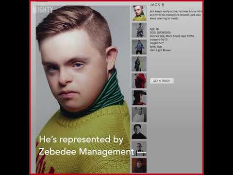 Watch video Meet Jack, A Model With Down Syndrome