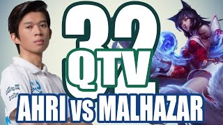 Stream QTV - AHRI vs MALHAZAR (31/11) #32, liên minh huyền thoại, lmht, lol