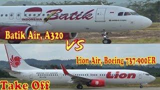 Video Batik Air VS Lion Air , Take Off In APT.Pranoto Airport SAMARINDA MP3, 3GP, MP4, WEBM, AVI, FLV Februari 2019
