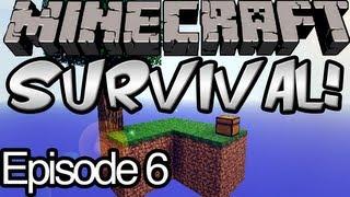 Minecraft Skyblock Survival Ep.6 - Panda Fisherman