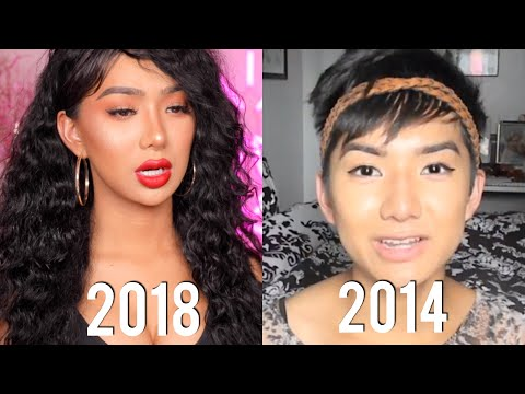 REACTING TO MY BOY VIDEOS!! | Nikita Dragun