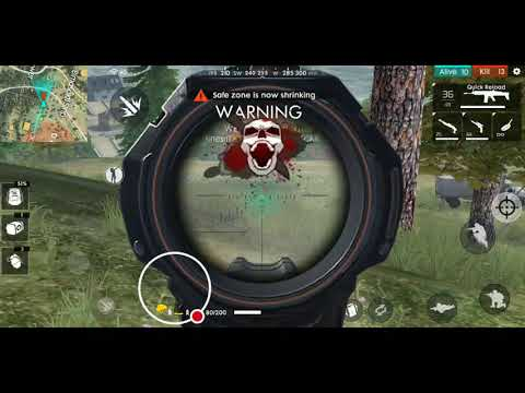 My First Free Fire Game 20 Kills