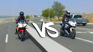 7. 2016 Yamaha R3 VS Ninja 300 | REVIEW/DYNO