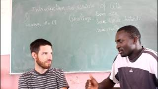 A quick lesson on how to speak Guinea-Bissau creole / kiriol / kriolu. This video was produced by West African Vocational Schools. To find out more about ...