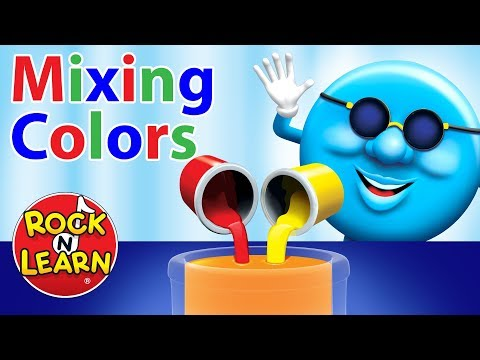 """mixing Colors"" From Colors, Shapes & Counting"