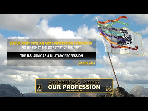 SACAPS - The U.S. Army as a Military Profession Screenshot