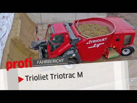 Selbstfahrender Futtermischwagen Triotrac M von Trioliet | profi #Fahrbbericht