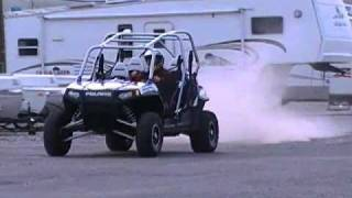 8. Polaris Ranger RZR 4 Robby Gordon Edition